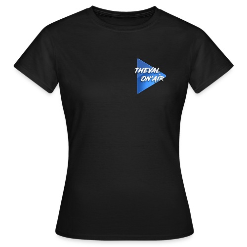 Logo TheVal On'Air - T-shirt Femme