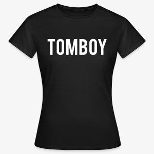 Tomboy White - Women's T-Shirt