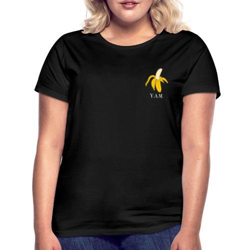 Y.A.M. LOGO Zwart - Vrouwen T-shirt