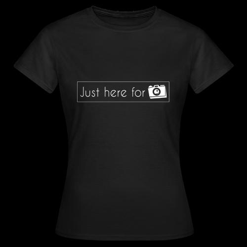 juste ici pour les photos - T-shirt Femme