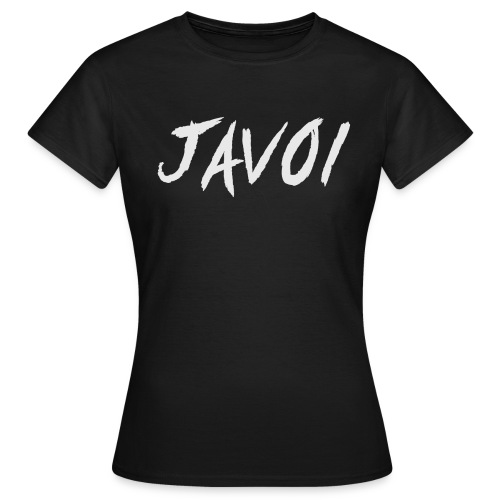 JAVOI graffiti text - Women's T-Shirt