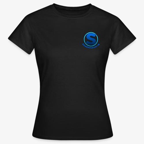 Shadowspear18 Logo+Schrift - Frauen T-Shirt