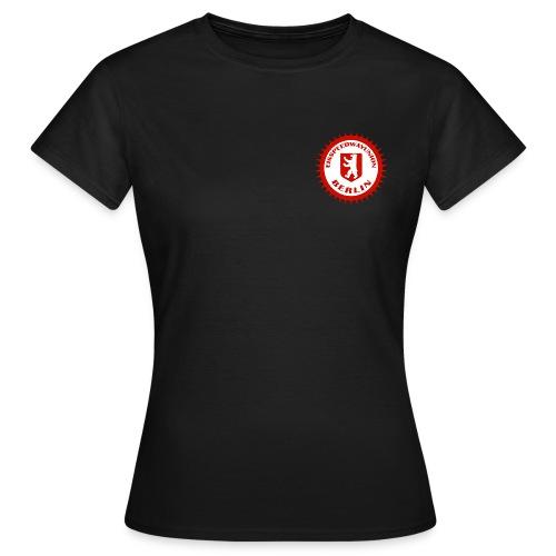 Logo in Rot Weiß - Frauen T-Shirt