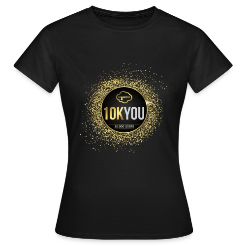 10k You! 10000 times thank you to ORGanusers! - Women's T-Shirt