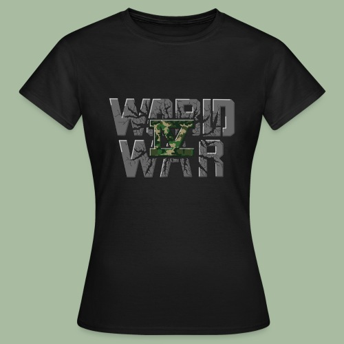 World War 4 - T-shirt Femme