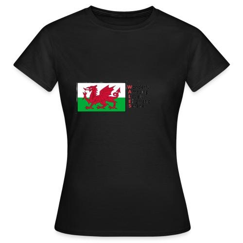 wales_letters - Women's T-Shirt