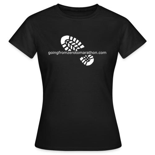 Going From Zero To Marathon - Women's T-Shirt