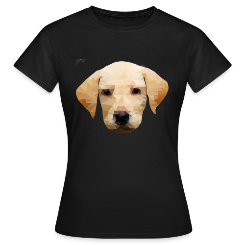 LowPolyDawg - Dame-T-shirt