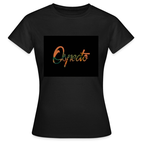 Ospecto logo - T-shirt Femme
