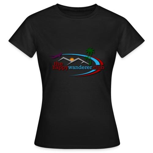 The Happy Wanderer Club Merchandise - Women's T-Shirt