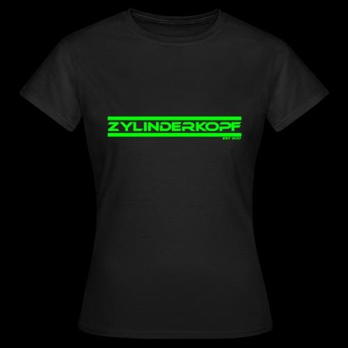 Zylinderkopf classic green Edition - Frauen T-Shirt