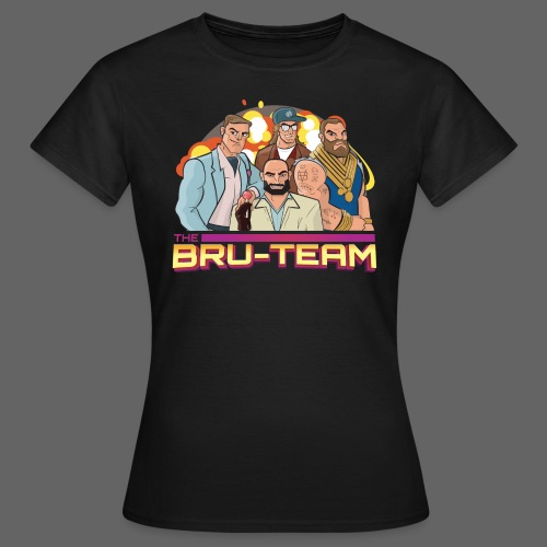 The Bru-team - The team - T-shirt dam
