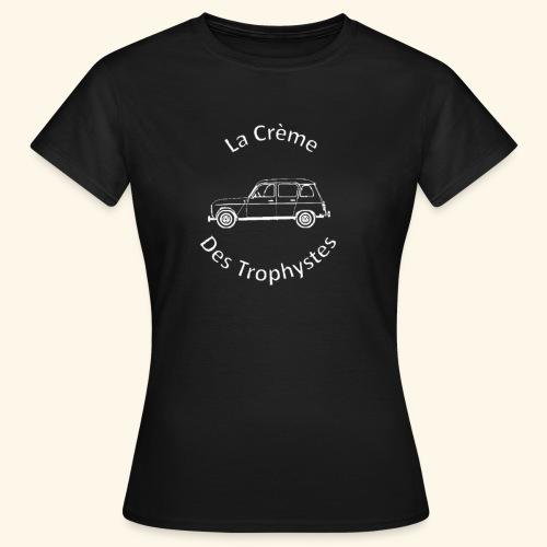 La Crème Des Trophystes - Modèle Berline Blanc - T-shirt Femme
