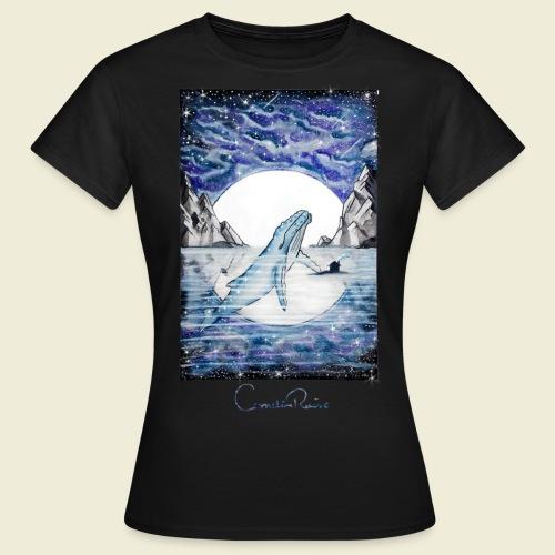 humpback whale - Women's T-Shirt