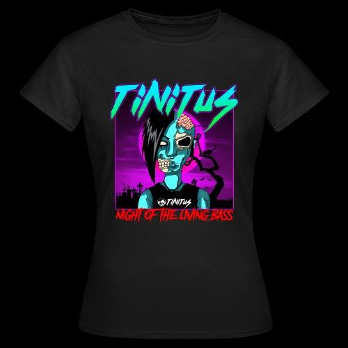 night of the living bass - Frauen T-Shirt