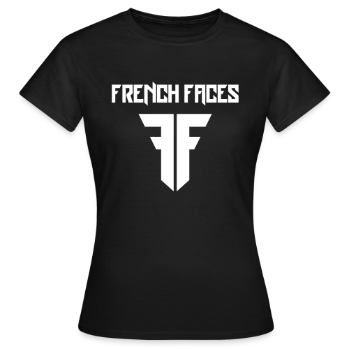 French faces - Vrouwen T-shirt