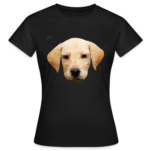 LowPolyDawg - Dame-T-shirt