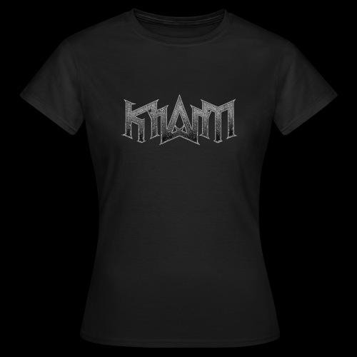 logo khasm - T-shirt Femme