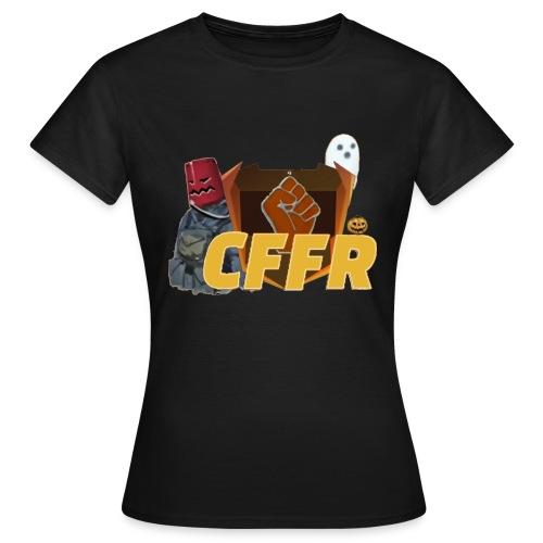 Logo CFFR (halloween) - T-shirt Femme