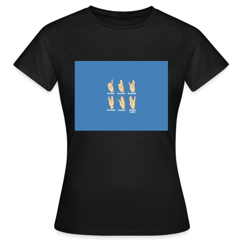 Finger Tee - Dame-T-shirt