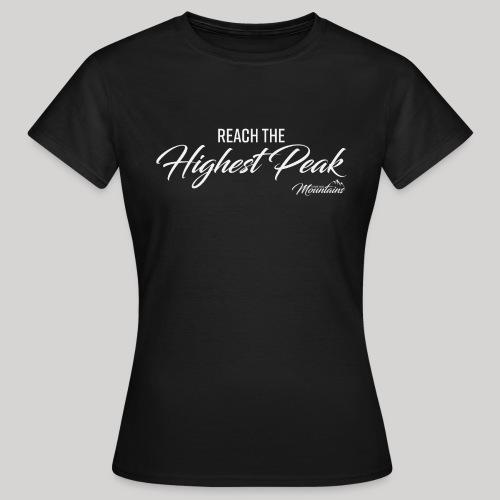 Highest peak - Frauen T-Shirt