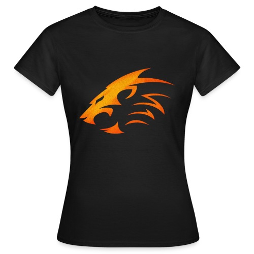 Rian The Lion Orange Logo - T-shirt dam