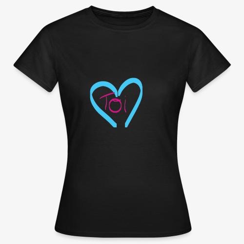 Mon cœur c'est Toi - T-shirt Femme