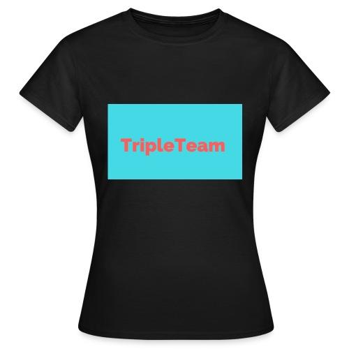 TripleTeam Logo - Vrouwen T-shirt