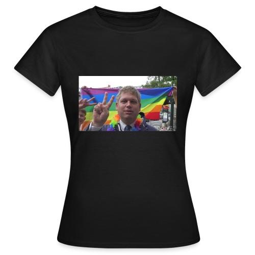 V for Sejr - Dame-T-shirt