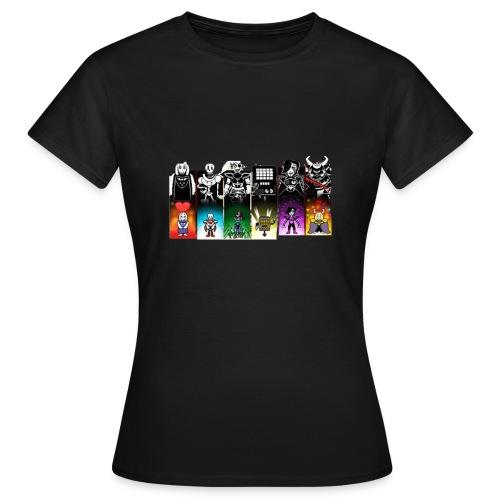 PHOTO - T-shirt Femme