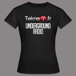 logo tekno1 2000x2000 - T-shirt Femme