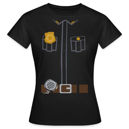 Police Tee Black edition - Women's T-Shirt