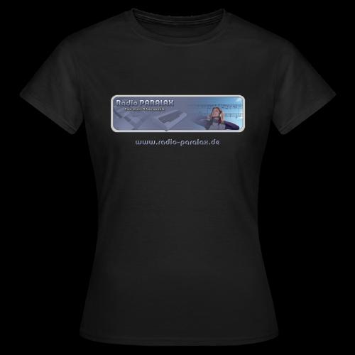 Radio PARALAX Classic-Logo mit Webadresse - Frauen T-Shirt