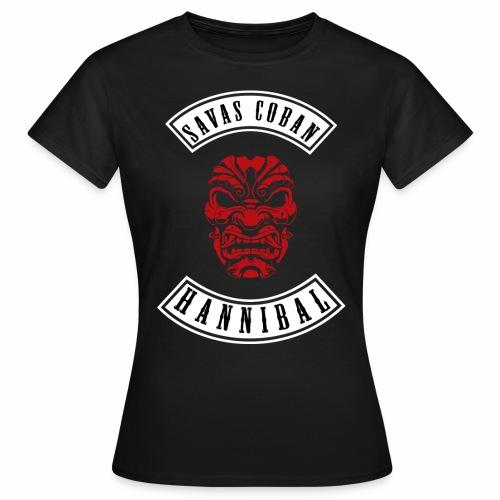 Savas shirt SCHWARZAUFWEISS - Frauen T-Shirt