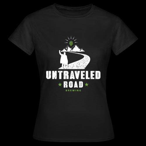 Untraveled Road Logo - weiß - Frauen T-Shirt