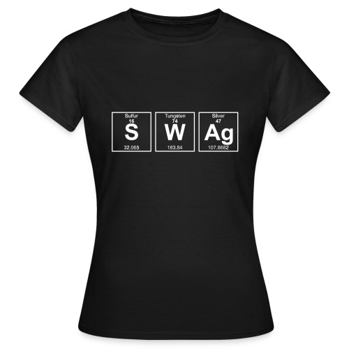 Periodensystem SWAG - Frauen T-Shirt