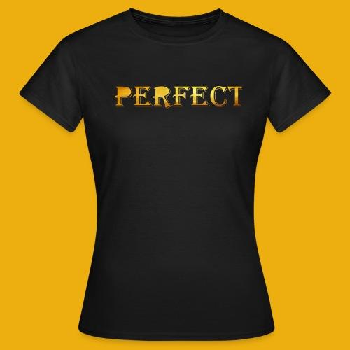 perfect metalic gold merch - Women's T-Shirt