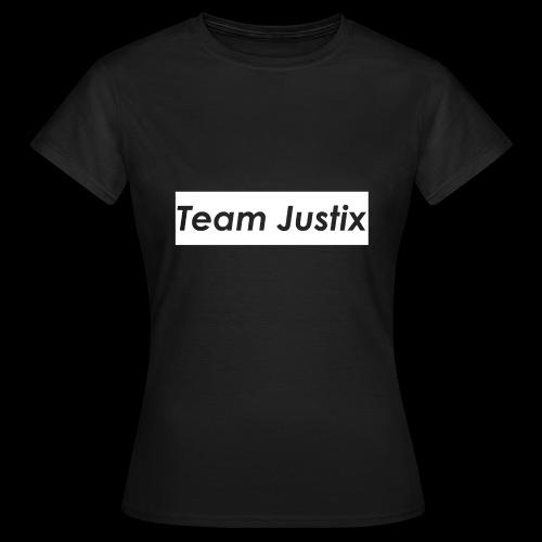 Team Justix im Supremestyle (weiß) - Frauen T-Shirt