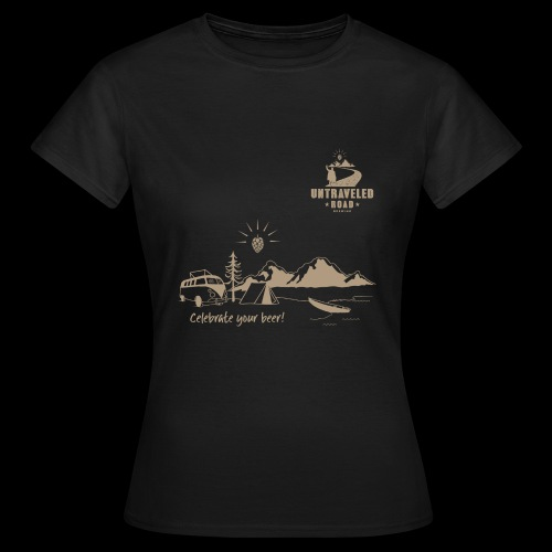 Shirt Celebrate Your Beer - Frauen T-Shirt