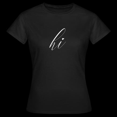 Hi Spread Shirt - Frauen T-Shirt