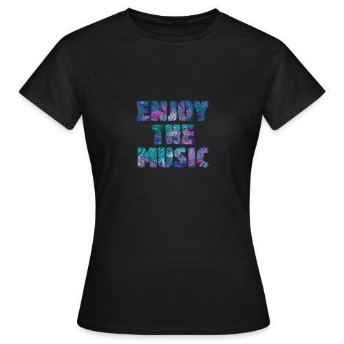 ENJOYTHEMUSIC PALMTREE - Camiseta mujer