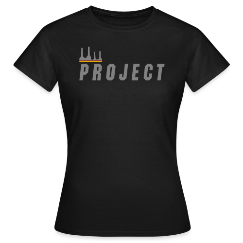 The Project, silver - Women's T-Shirt