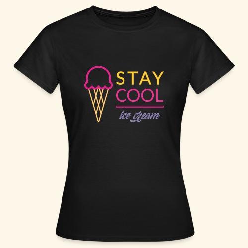 STAY COOL ICE CREAM (2) - Maglietta da donna