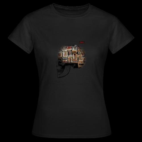 GSF MIND FULL OF BOOKS DESIGN - Frauen T-Shirt