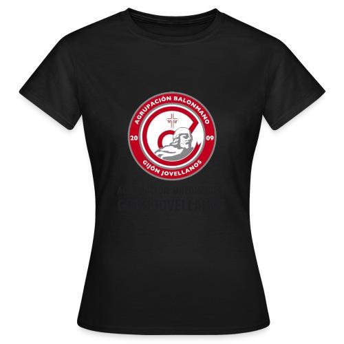 Escudo vertical básico - Camiseta mujer