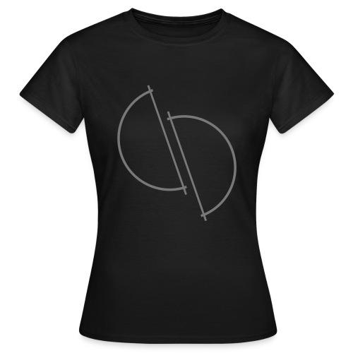 ediplace logo line art - T-shirt dam