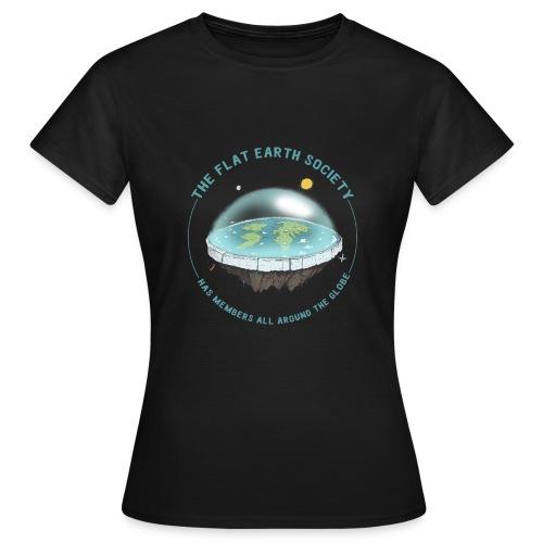 flat earth threadless - Women's T-Shirt