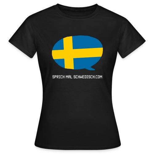 Sprich Motte Englisch - Frauen T-Shirt