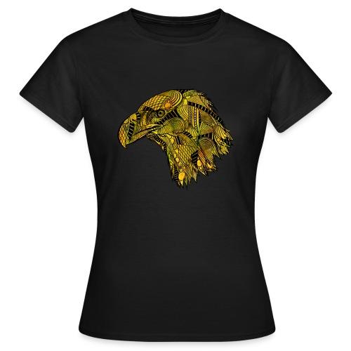 Gul ørn - T-skjorte for kvinner