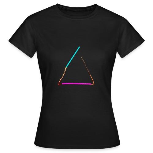 3eck - Dreieck - triangle - Frauen T-Shirt